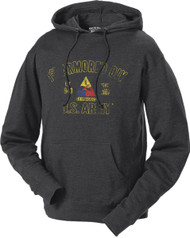 US Army 1st Armored Division Retro United States Army Hoodie