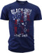 Black Ink's Mens Live Free T-Shirt Navy