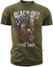 Black Ink's Mens Live Free T-Shirt Olive