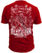 Black Ink's Mens Ride Till I Die T-Shirt Red
