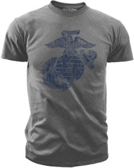 Men's Marines T-Shirt - US Marines Classic Eagle Globe & Anchor