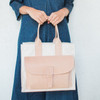 Agnes Baddoo : Sac 1 - Natural Cow & Canvas