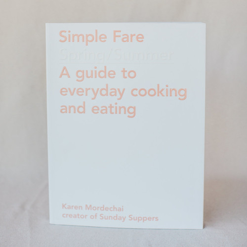 Simple Fare Spring / Summer Cookbook