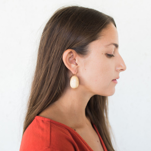 Sophie Monet : Egg Earrings