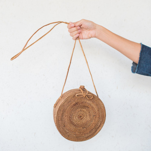 Midland : Indonesian Handwoven Straw Bag