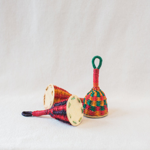 African Woven Rattles