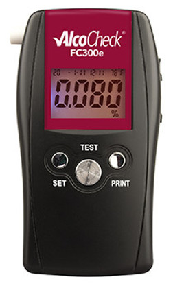 AlcoCheck FC300e Evidential Breath Alcohol Fuel Cell Tester