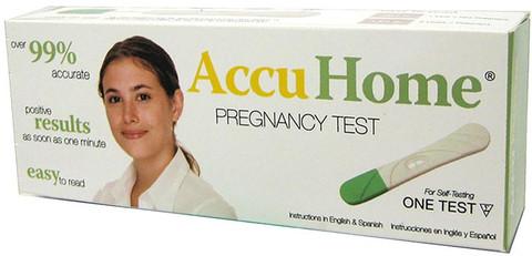 AccuHome Pregnancy Test
