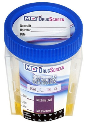 5 panel drug testing cup