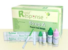 Rapid Response Strep A Test Kit