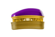 Dessata - Professional - Mini Detangling Brush - Purple-Gold