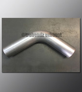 Mandrel Bend - 2.25 Inch OD Tube .065 wall - 65 Degree Aluminized