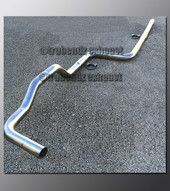 95-99 Dodge Neon Exhaust Tubing - 2.25 Inch Aluminized