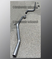 08-11 Ford Focus Exhaust Tubing - 2.25 Inch Stainless