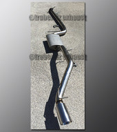 00-04 Ford Focus Exhaust - 2.5 inch Stainless with Borla