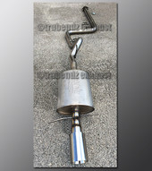 03-07 Saturn Ion Exhaust - 2.5 inch Stainless with Borla