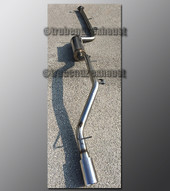 03-09 Mazda3 Exhaust - 2.5 inch Aluminized with Magnaflow