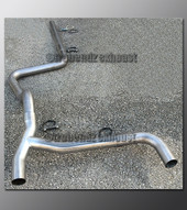 95-05 Pontiac Sunfire Dual Exhaust Tubing - 2.5 Inch Stainless