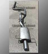 99-02 Infiniti G20 Exhaust - 2.5 inch Aluminized with Borla