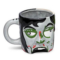 Female Zombie Head Mug