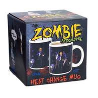 Zombie Apocalypse Heat Change Mug