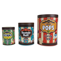 Candy Shoppe Kitchen Canister Set
