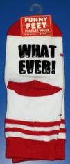 Funny Feet What Ever! Toddler Socks
