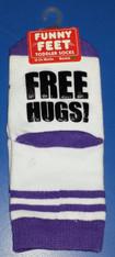 Funny Feet Free Hugs! Toddler Socks