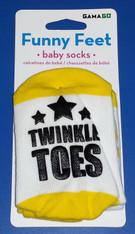 Funny Feet Twinkle Toes Baby Socks