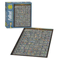 Fallout Perk Poster 550-Piece Puzzle