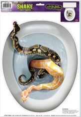 Snake Toilet Topper