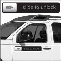 Slide to Unlock Magnet Strip