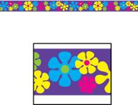 Party Tape Retro Flowers