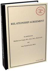 Big Bang Theory Relationship Agreement Journal