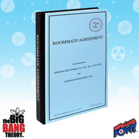 Big Bang Theory Roommate Agreement Journal