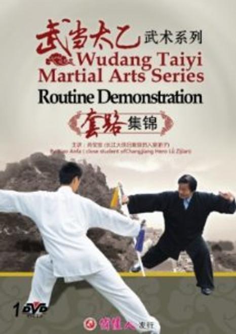 Wudang Taiyi Martial Arts Series---Routine Demonstration - (WM5W)