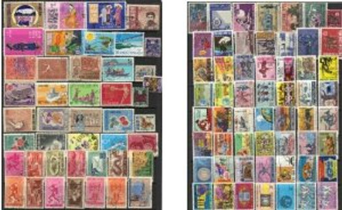 South Vietnam Stamps - 100 different South Vietnam stamps pack (Free Shipping by Great Wall Bookstore) - (9V001)