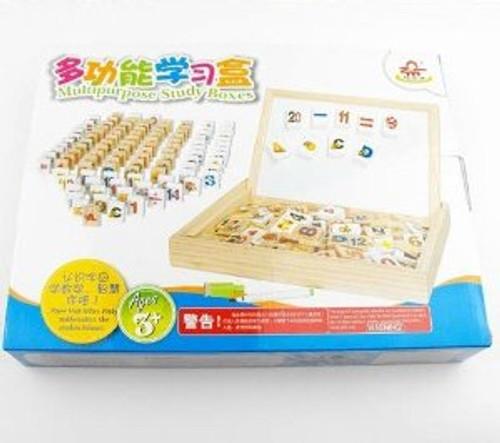 Wooden Children Multipurpose Study Boxes - (WL8C)