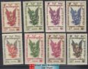 Cambodia Stamps - 1953, Sc C1-9 Kinnari - MNH, F-VF (9A01P)