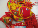 "Chinese New Year Decorative Good Luck Hanging - size 17"" Long (measured from top to bottom excluding tassels) (WXCN)"