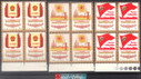 China Stamps - 1978, J24, Scott 1373-75 5th National People's Congress of PRC, Block of 4 - MNH, F-VF (9137B)