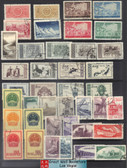 China Stamps - 1951 - 1956 , S1, S2, S3, S5, S7, S8, S10, S14, S16, S17, China Stamps Collection with 10 complete sets - CTO  (9001V)