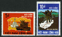 South Vietnam Stamps - 1972 , Sc 439-40 Victory at Binh Long - MNH, F-VF (9V01M)