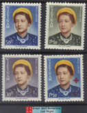 South Vietnam Stamps - 1952 , Sc 14-6 complete set + B1, Empress Nam Phuong - MNH, F-VF (9V06X)