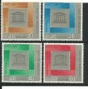 Laos Stamps - 1966 - Sc 133-6, UNESCO - MNH, F-VF - (9A04M)