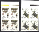 China Stamps - 1988, T132 , Scott 2182-83 Wapiti, Imperf Block of 4, MNH, F-VF - (9218B)