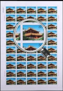 China Stamps - 2000-9 , Scott 3025-28 Taer Lamasery - Full sheet of 50 complete sets - MNH, VF - (9302G)