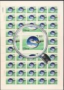 China Stamps - China Stamps - 2000-23, Scott 3066-69 Fruits of Meteorology - Full Sheet - MNH, F-VF (9306H)