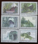 China Stamps - 1984 , T100 , Scott 1956-61 Scenes of Mount Emei, MNH, F-VF - (91956)