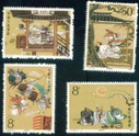 China Stamps - 1988, T131 , Scott 2176-80 The Romance of the Three Kingdoms (1st Series), MNH, F-VF - (92176)